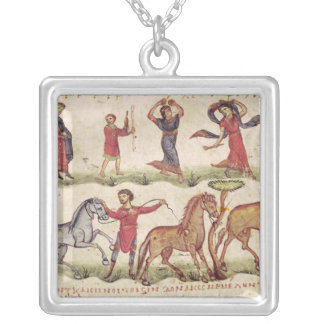 Horse Trainers Silver Plated Necklace
