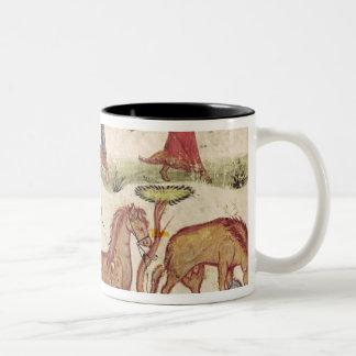 Horse Trainers Two-Tone Coffee Mug