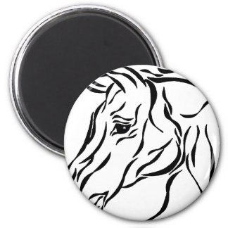 Horse tribal magnets