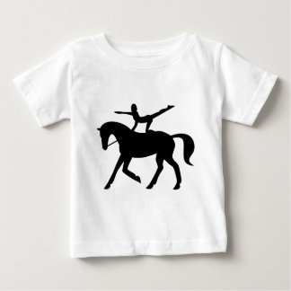 horse vaulting icon baby T-Shirt