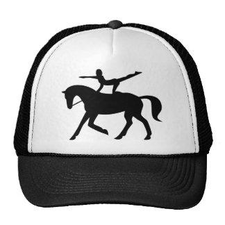 horse vaulting icon cap