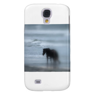 Horse walking the beach Newport Rhode Island Galaxy S4 Case
