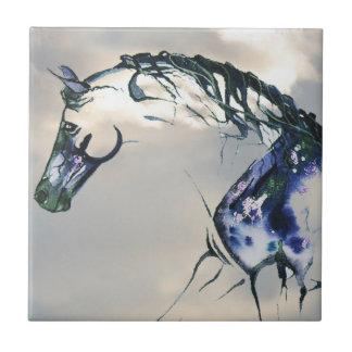 Horse Watercolor Cloud Tile