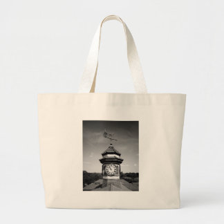 Horse Weather Vane and Clock Tower Canvas Bag