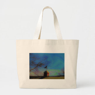 Horse Weather Vane colorful Sky Tote Bag