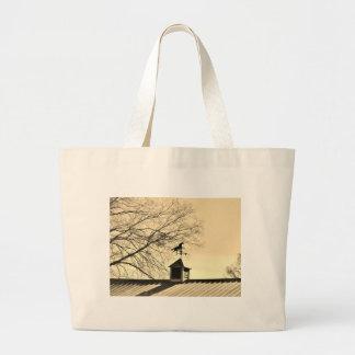 Horse Weather Vane sepia Tote Bag