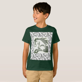Horse with Stamp Border T-Shirt