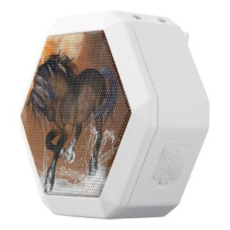 Horse with watersplash white boombot rex bluetooth speaker