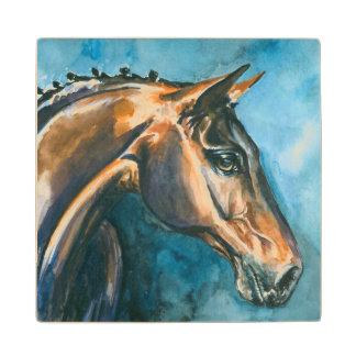 Horse Wood Coaster