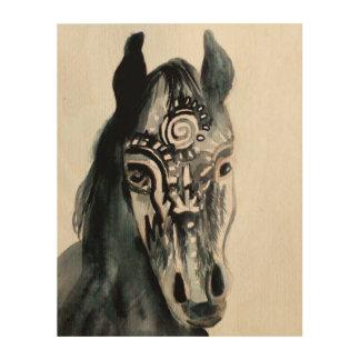 Horse Wood Wall Art Wood Prints