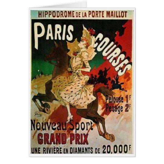 Horseback in Paris Card
