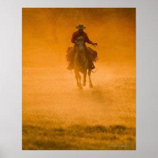 Horseback rider 12 poster