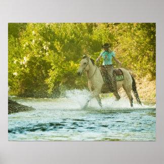 Horseback rider 16 print