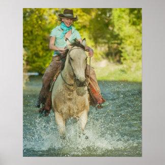 Horseback rider 21 poster