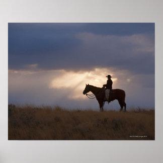 Horseback rider 22 print
