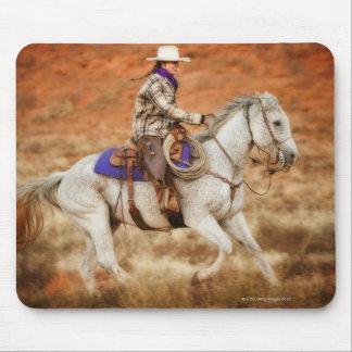 Horseback rider 2 mousepads