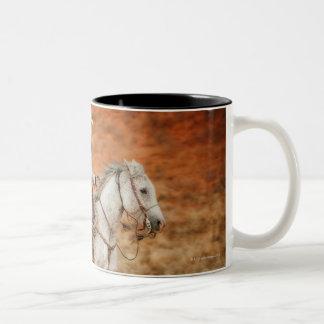 Horseback rider 2 Two-Tone mug