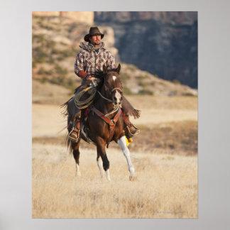 Horseback rider 7 print