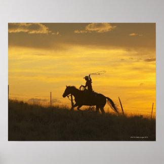 Horseback rider 9 poster