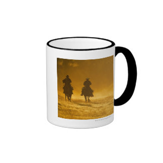 Horseback riders 3 coffee mug