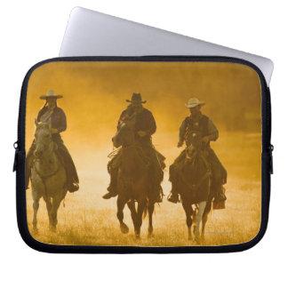 Horseback riders 4 laptop sleeve