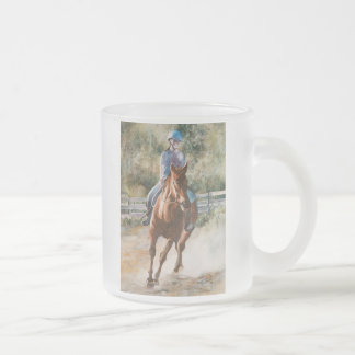 Horseback Riding Equestrian Teamwork Drinking Mug