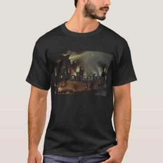 Horsefest 2009 Bosch Large & Logo cutout T-Shirt