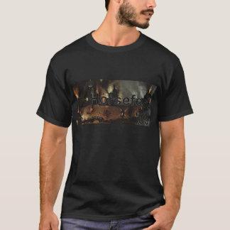 Horsefest 2009 Bosch strip with logo cutout T-Shirt