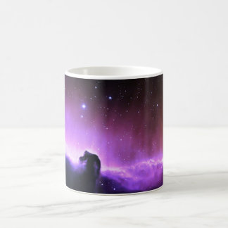Horsehead Nebula colorful night sky scenery Basic White Mug