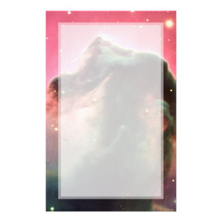Horsehead Nebula Pink Space Personalized Flyer