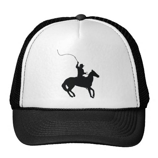 Horseman with Whip Mesh Hats