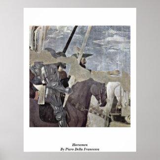 Horsemen By Piero Della Francesca Print