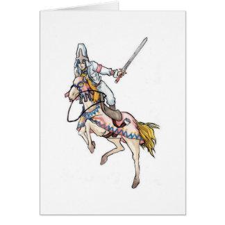 Horserider Greeting Card