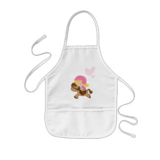 Horseriding Hearts Kids Apron