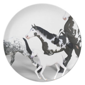 horses-1530858 party plate