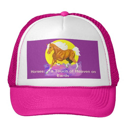 Horses - a touch of Heaven on Earth Hat