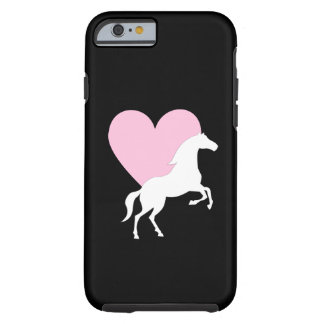Horses and Love Tough iPhone 6 Case