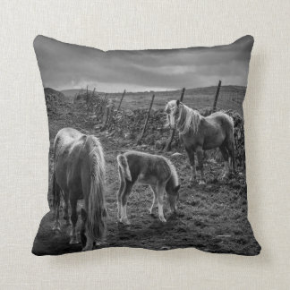 Horses and Pony Pillow