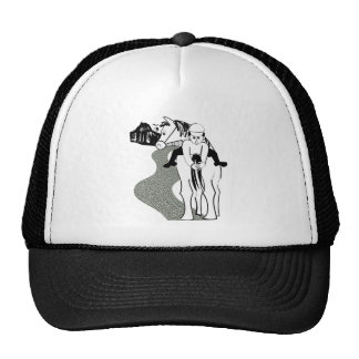 horses and seasons trucker hats