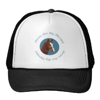 Horses Are My Therapy Trucker Hat