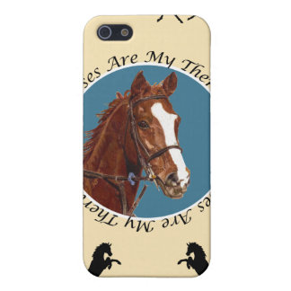 Horses Are My Therapy iPhone 5/5S Covers
