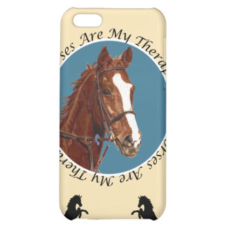 Horses Are My Therapy Case For iPhone 5C