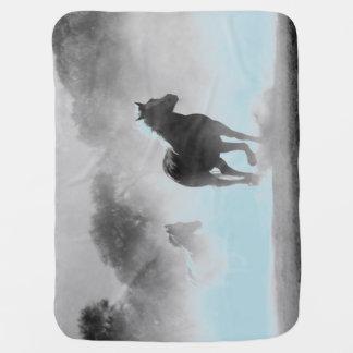 Horses Baby Blanket