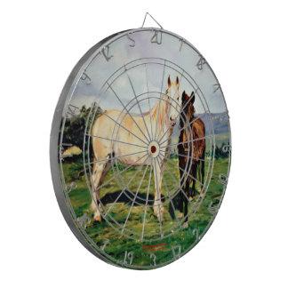 Horses/Cabalos/Horses Dartboard