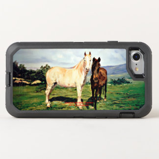 Horses/Cabalos/Horses OtterBox Defender iPhone 8/7 Case