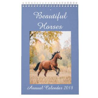 Horses Calendar 2018