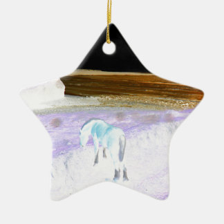 Horses Christmas Ornament