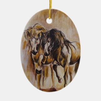 Horses Christmas Ornament
