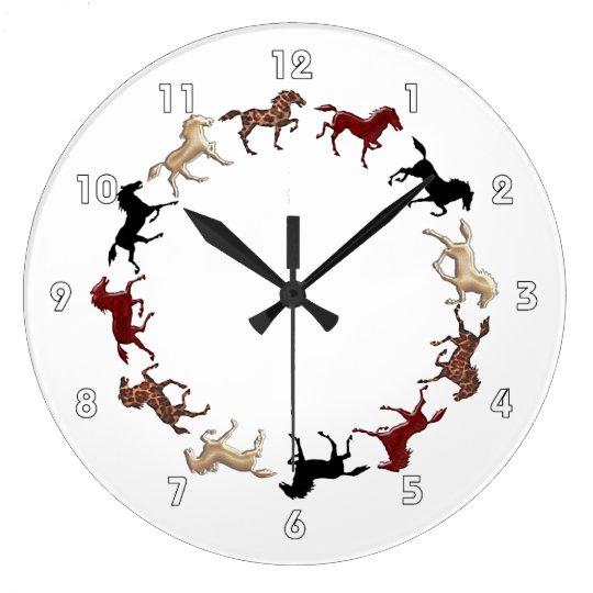 Horses Circle 'Round the Clock