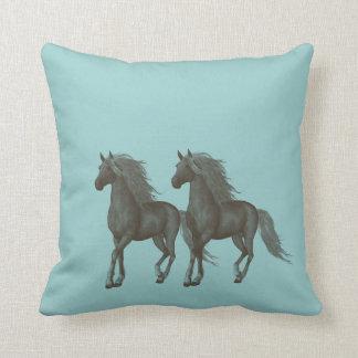 Horses Pillow